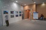 会場入り口には中村征夫さんの写真パネル